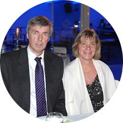Dr. Michael und Petra K. Bei der...