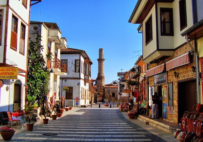 Antalya old city centre