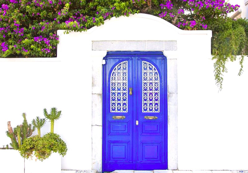 Classical entrance to Bodrum properties