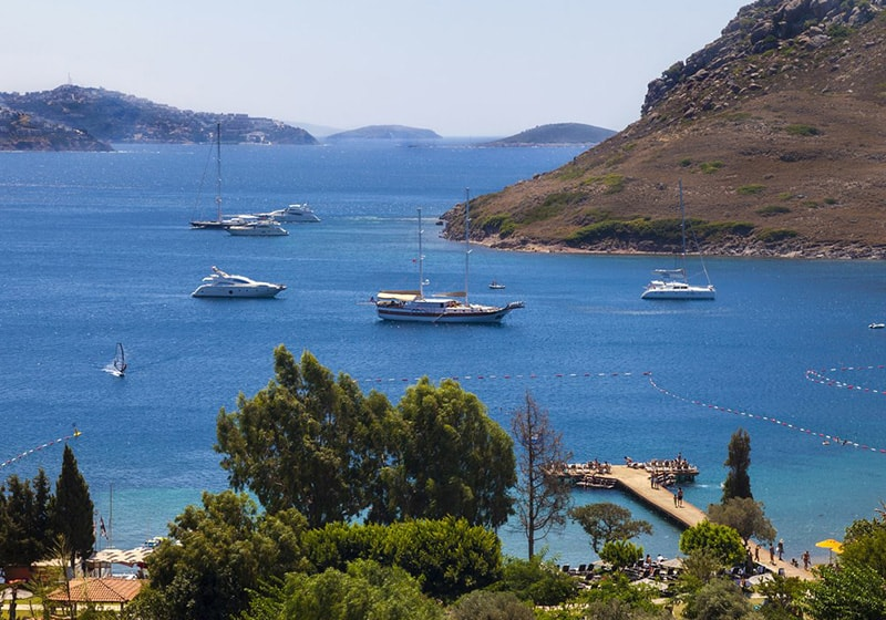 Yachting in Bodrum