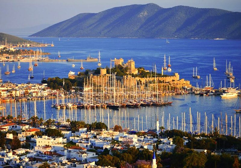 View from the Bodrum castle