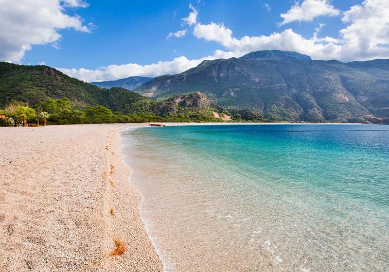 Fethiye ölüdeniz beach