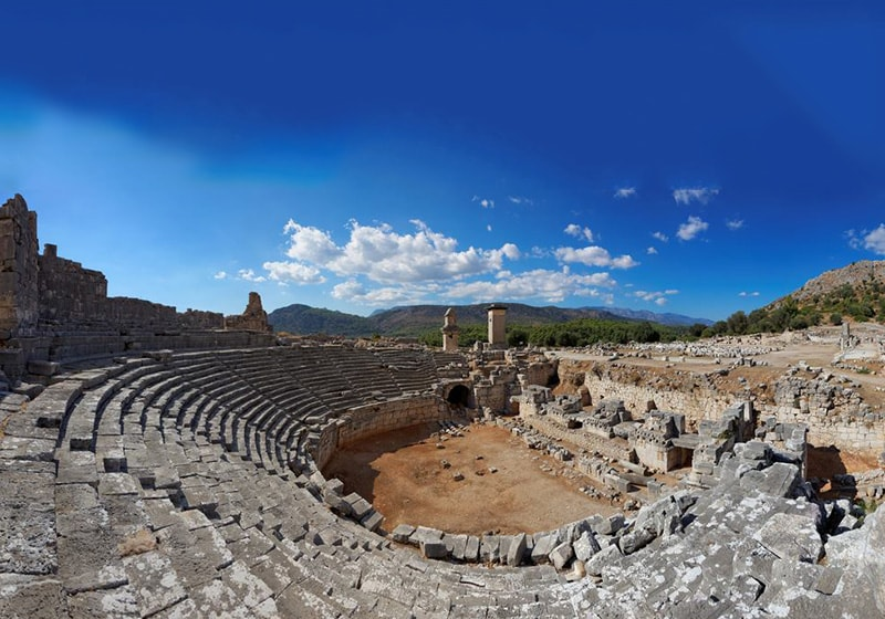 Fethiye historical area