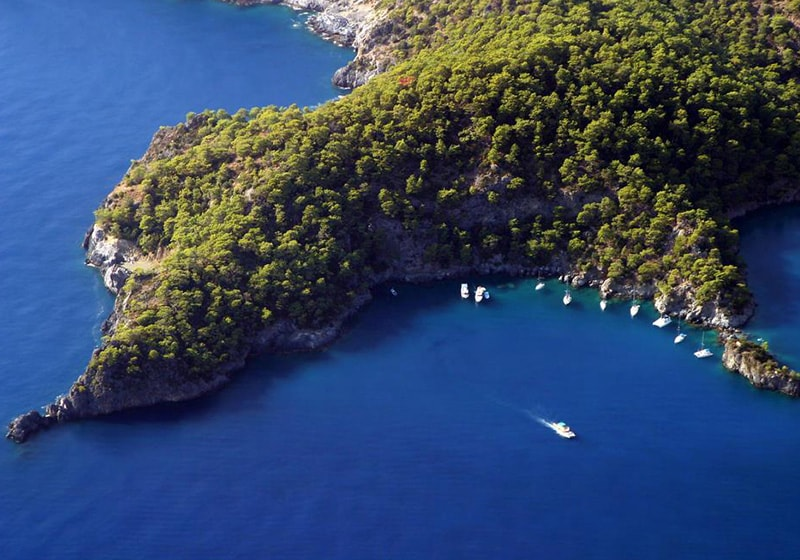 Fethiye yacht tours around Oludeniz