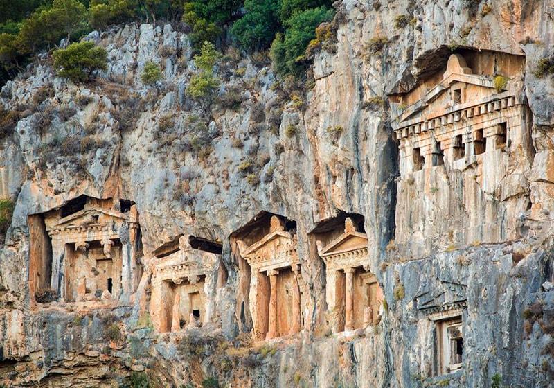 Fethiye historical places