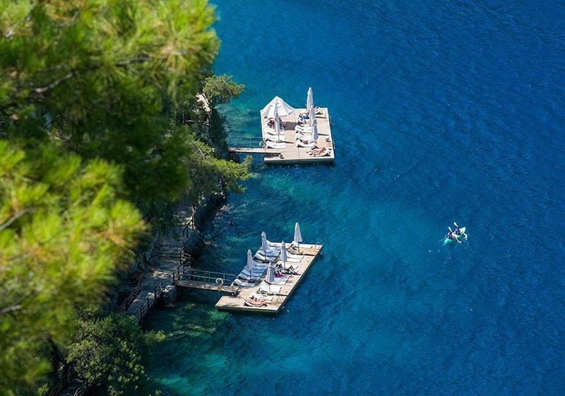Fethiye island