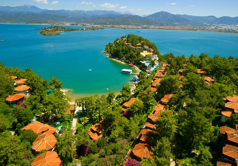 Fethiye best places to swim