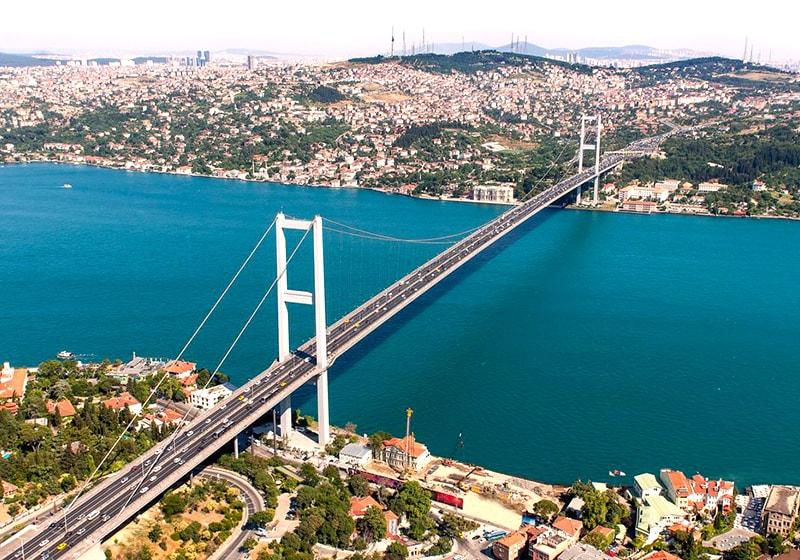 Мост через Босфор, Стамбул