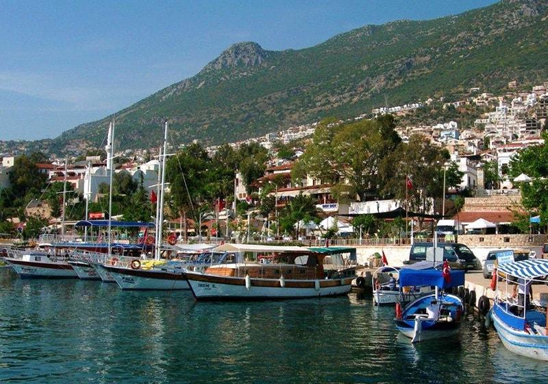 Вид на порт, Калкан