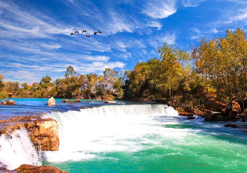Водопад в Манавгате