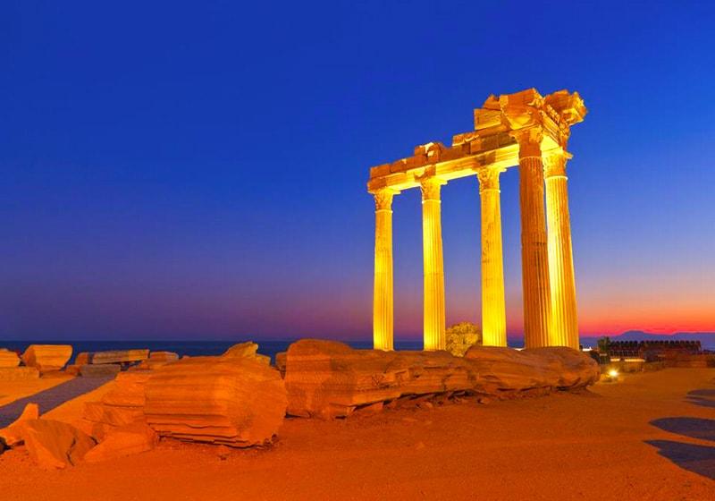 Храм Аполлона, Сиде
