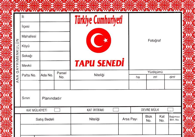 TAPU: Das erste türkische Wort, das Sie lernen müssen, wenn Sie eine Immobilie in der Türkei kaufen