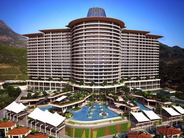 Luxus 5-Sterne-Hotel Apartments in wunderschönen Anlage mit hervorragenden Einrichtungen in bester Lage.
