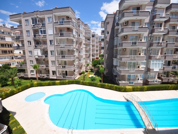Beautiful apartment in a beach front complex in Mahmutlar