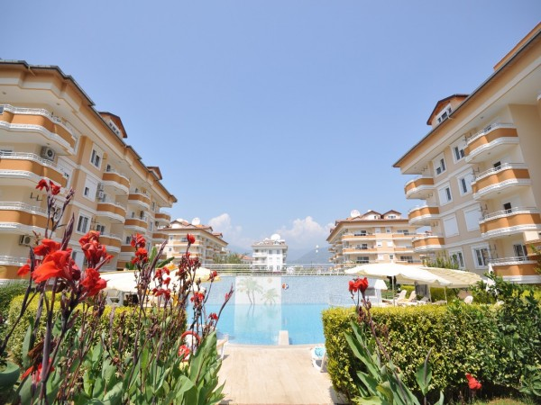 Superb complex close to the beach in Alanya