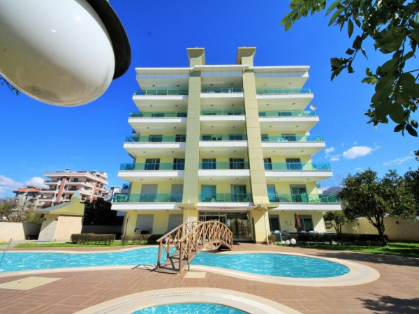 Amazing 1 bedroom apartment in new residential complex in Alanya