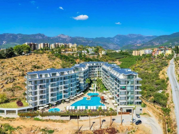 Lovely 1 bedroom apartment in newly completed project in Alanya