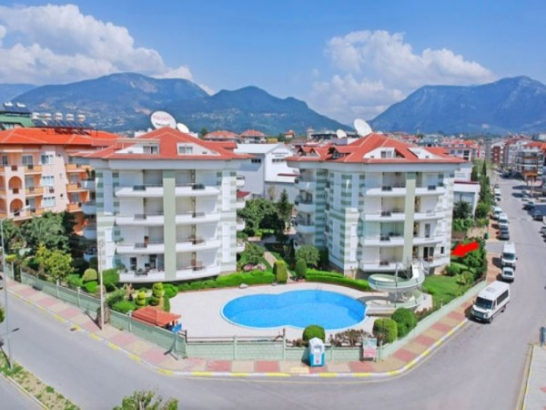 Fully furnished and ready to move 2 bedroom apartment in Alanya