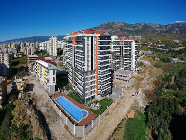 Amazing 4 bedroom apartment in newly completed project in Alanya