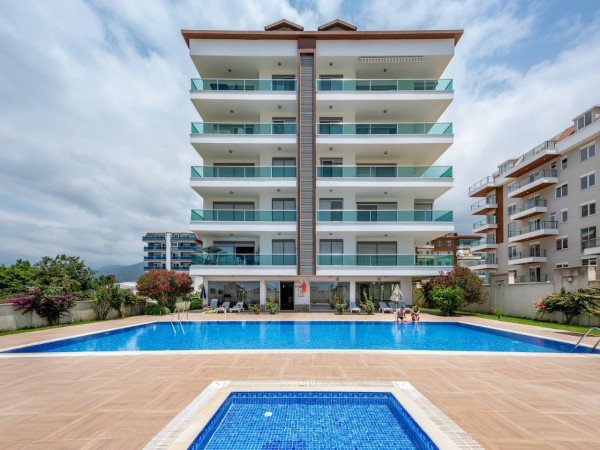 Amazing fully furnished 3 bedroom apartment for sale in Alanya
