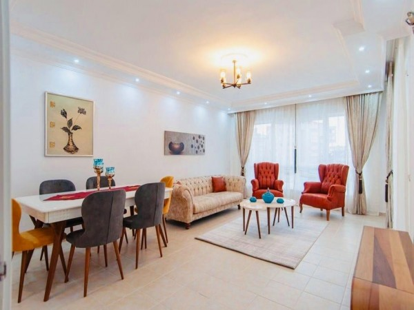 2 bedroom fully furnished flat close to Alanya center