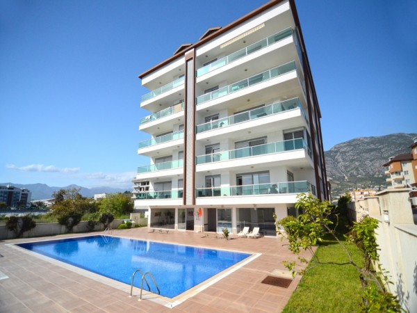 Nicely located and fully furnished 1 bedroom for sale in Alanya