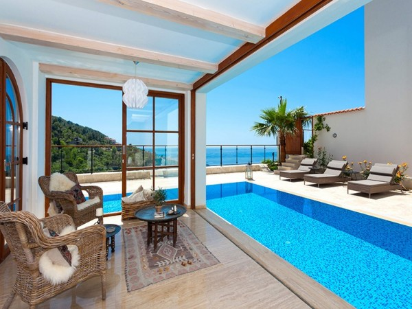 Absolutely fantastic private villa with amazing views in Alanya