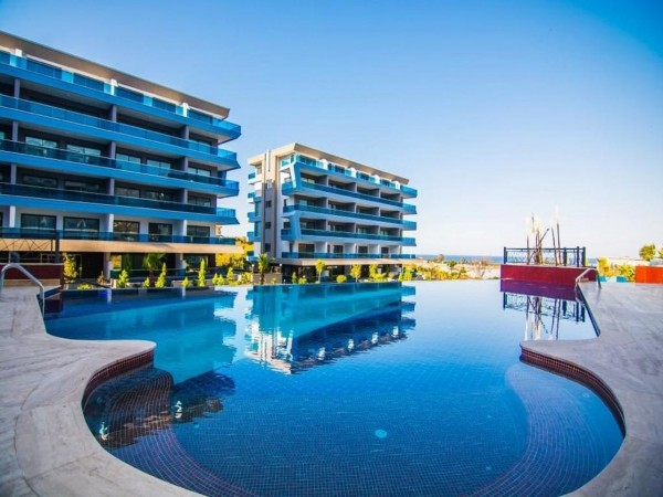 Fantastic penthouse tastefully furnished and ready to move in Alanya