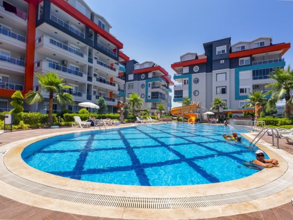 2 bedroom apartment in stylish residential complex in Alanya
