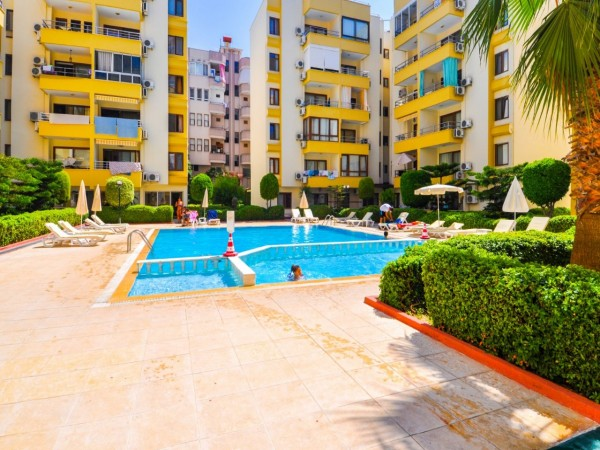 Nicely furnished cozy 1 bedroom apartment for sale in Alanya