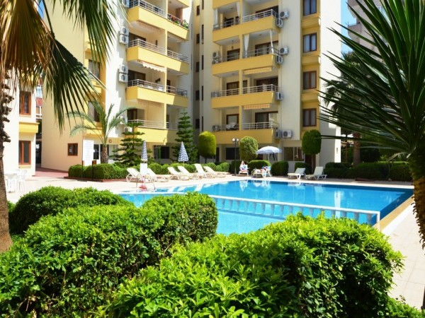 Fully furnished bargain 1 bedroom apartment for sale in Alanya