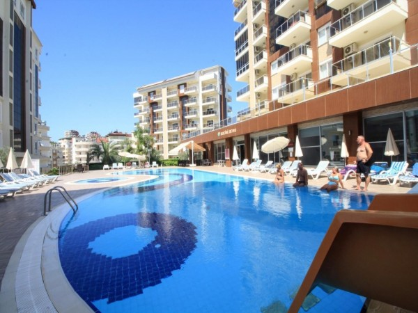 Top quality 2 bedroom apartment for sale in Alanya