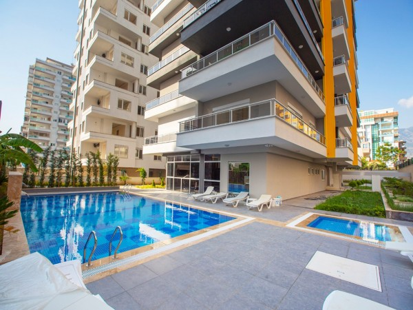 Extra spacious high quality 3 bedroom apartment for sale in Alanya