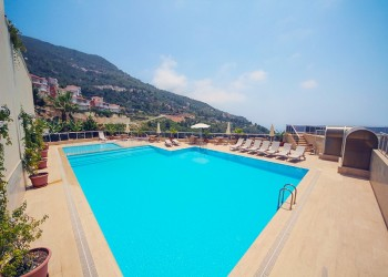Stunning 3 bedroom semi detached villa for sale in Alanya