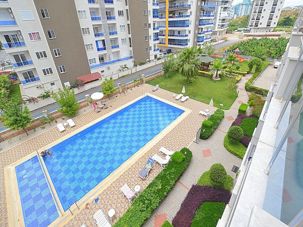 Lovely 1 bedroom apartment with large living surface for sale in Alanya