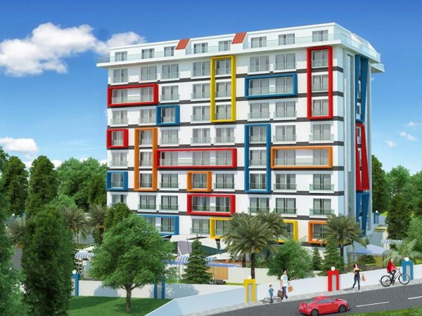 Excellent apartments in new residential complex for sale in Alanya