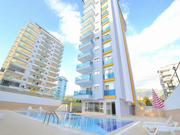 Großes Wohnung mit 1 Schlafzimmer in einem Komplex in Alanya
