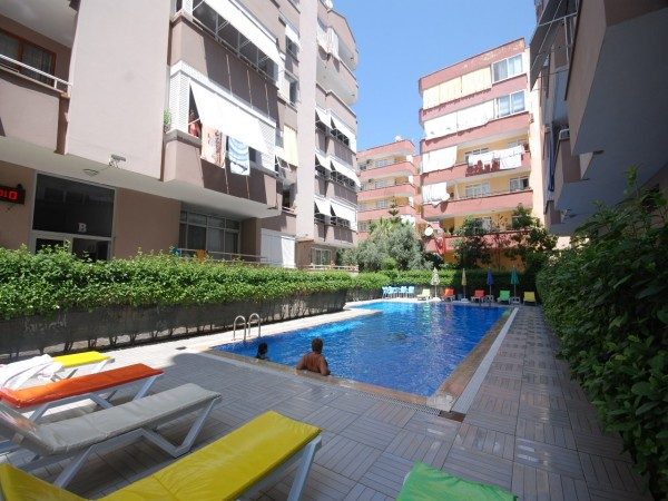 Nicely located 2 bedroom apartment for sale in Alanya