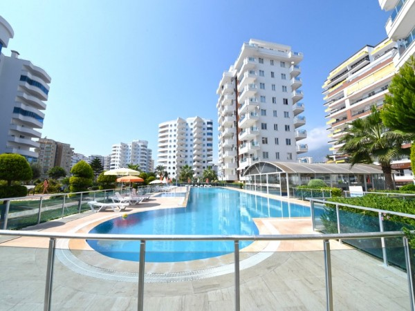 Nicely furnished 1 bedroom apartment for sale in Alanya