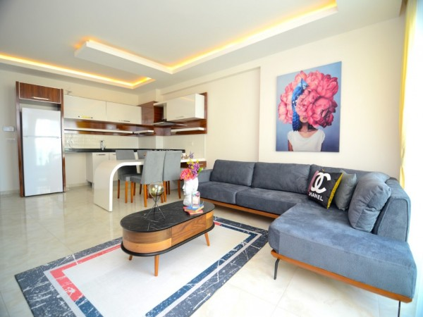Veyr special 1 bedroom with large living surface for sale in Alanya