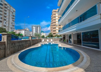Very spacious 3 bedroom apartment with large living surface in Alanya