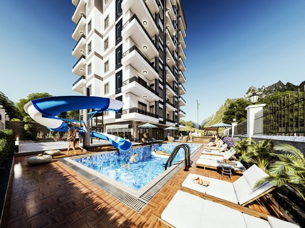 Newly launched residential complex for sale with payment plan in Alanya