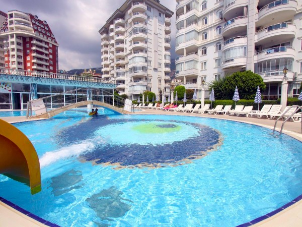 Extra large 4 bedroom penthouse for sale in Alanya