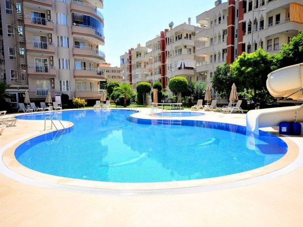 Large and Furnished 2 bedroom apartment for sale in Mahmutlar Alanya