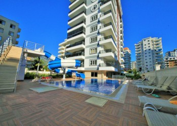 High quality 1 bedroom apartment in new complex for sale in Alanya