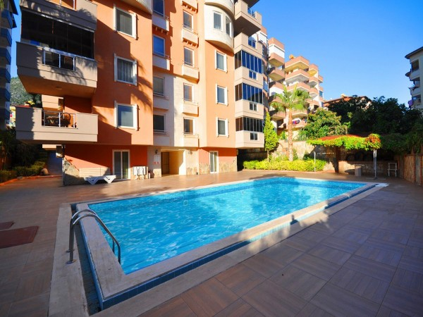 Centrally located and fully furnished 2 bedroom apartment in Alanya