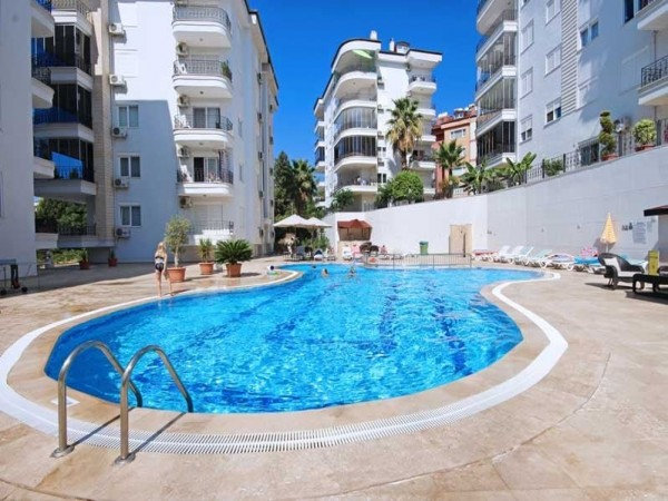Stylish 2 bedroom apartment for sale including all furniture in Alanya
