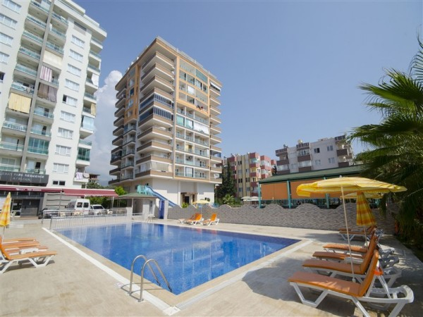 Pleasant fully furnished 1 bedroom apartment for sale in Alanya