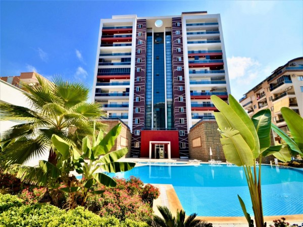 Tastefully furnished 1 bedroom apartment for sale in Alanya