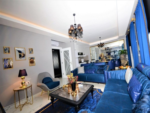 Luxurious fully furnished 2 bedroom apartment for sale in Alanya